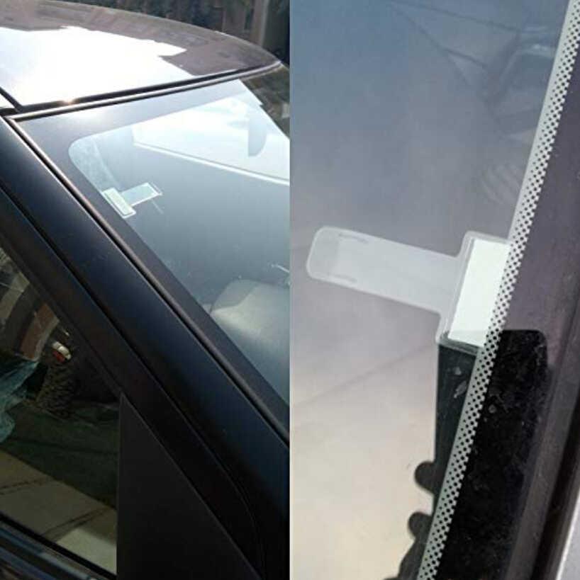 Coche para tique de estacionamiento Clip de fibra de carbono para honda civic 2017 jeep wrangler jk skoda Fabia renault clio 4 suzuki vitara 2017