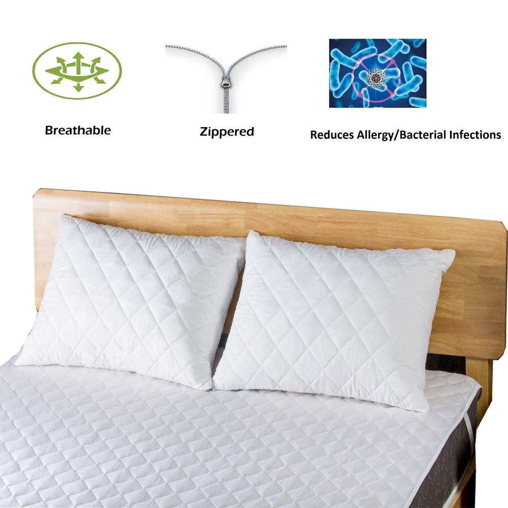 quilted pillow protectorjpg (4)