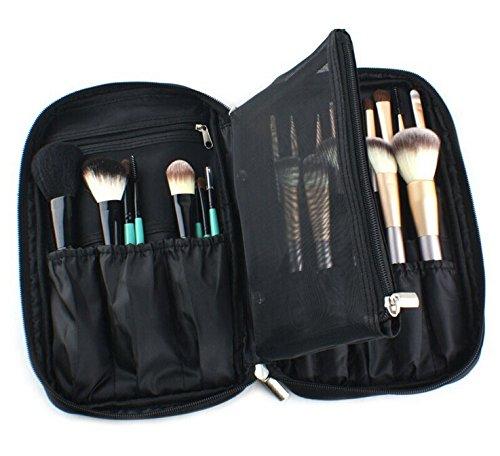 Makeup Brush Set Bag Beautician Make up Cosmetic bag vanity case Multifunction Portable Make Up Handbag