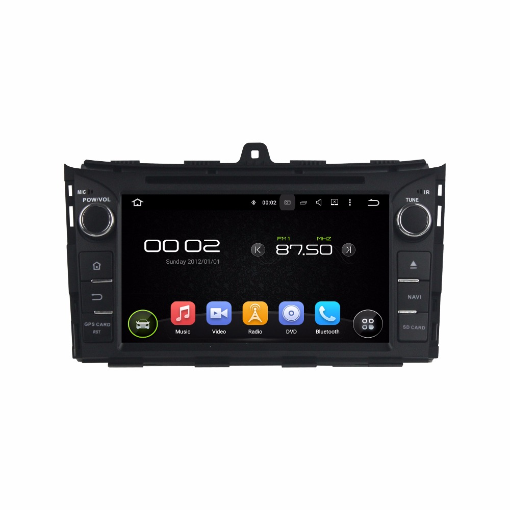 Android8.0 octa core 4GB RAM car dvd player for Geely EC7 2014 ips touch screen headunits tape recorder radio with gps