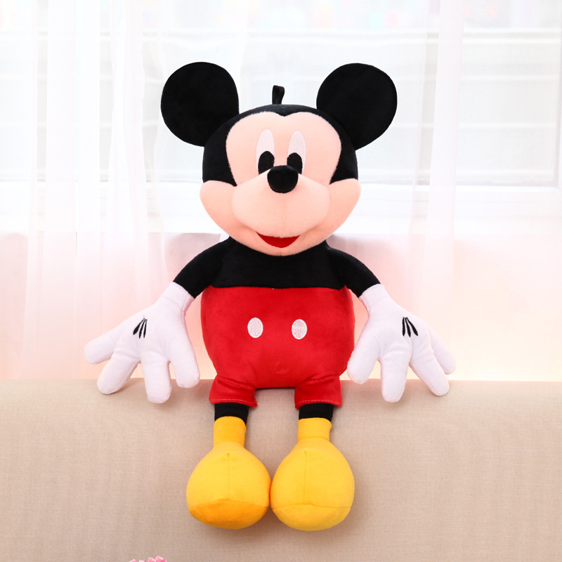 165cm Large Mickey Mouse Big Red Minnie Mouse Plush Toy Lover Dolls