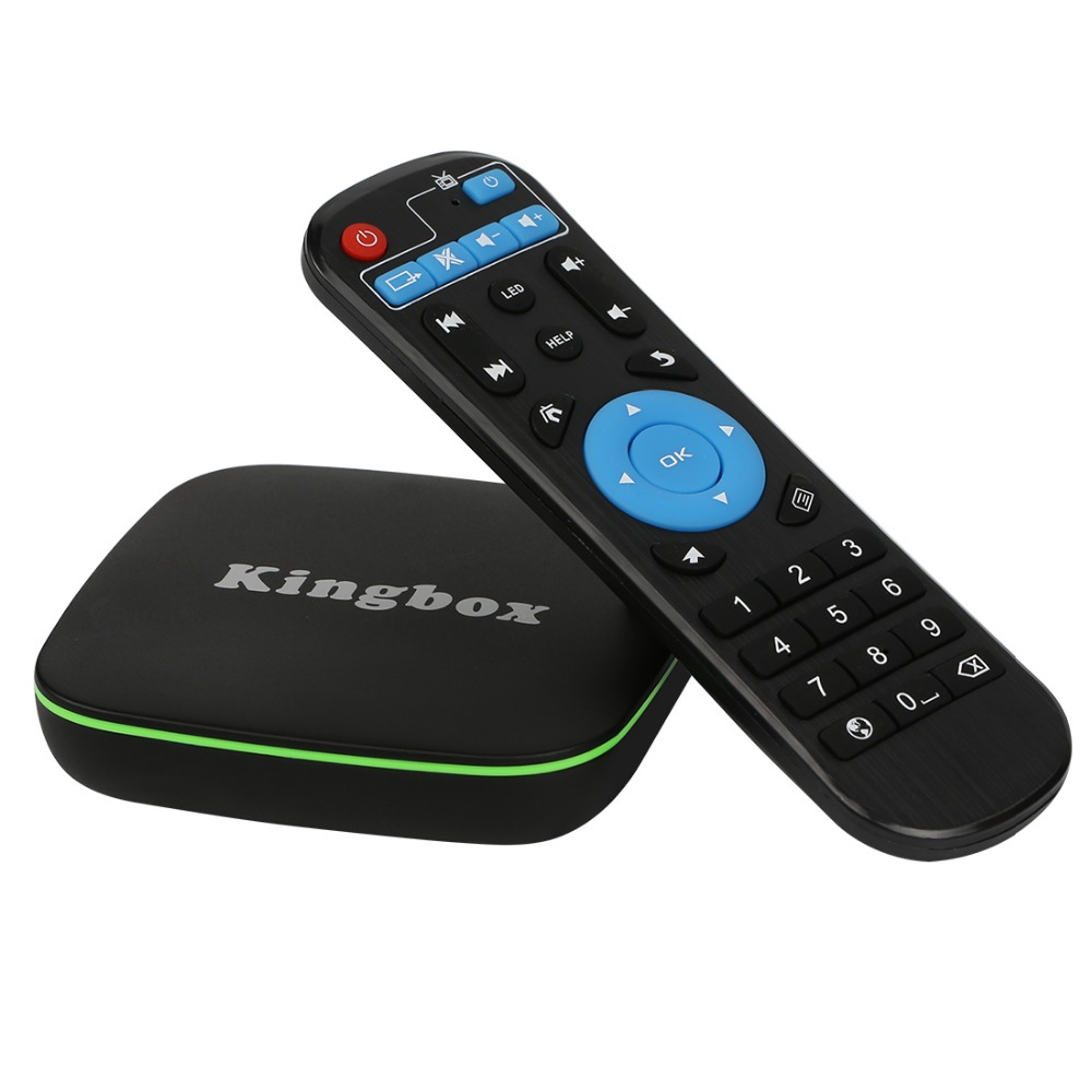 Kingbox K1 Android TV Box HD 1080P 4K*2 K 2 4G Wifi Quad