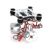 HAKRC 2 Axis CNC Metal Brushless BGC2.2 PTZ Control Panel Gimbal Stabilizer for RC Drone Camera Gopro3 DJI Phantom