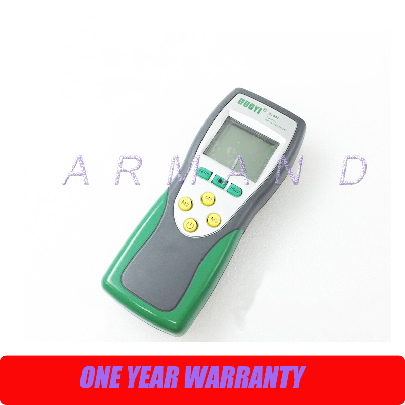 цена Carbon Monoxide CO Detector Meter Gas Sensor 0-1000ppm range DY881 Digital Gas Meter Tester