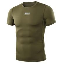 WST тактическая рубашка с коротким рукавом камуфляж армейский круглый воротник анти-УФ пот Спорт на открытом воздухе тренировочная рубашка