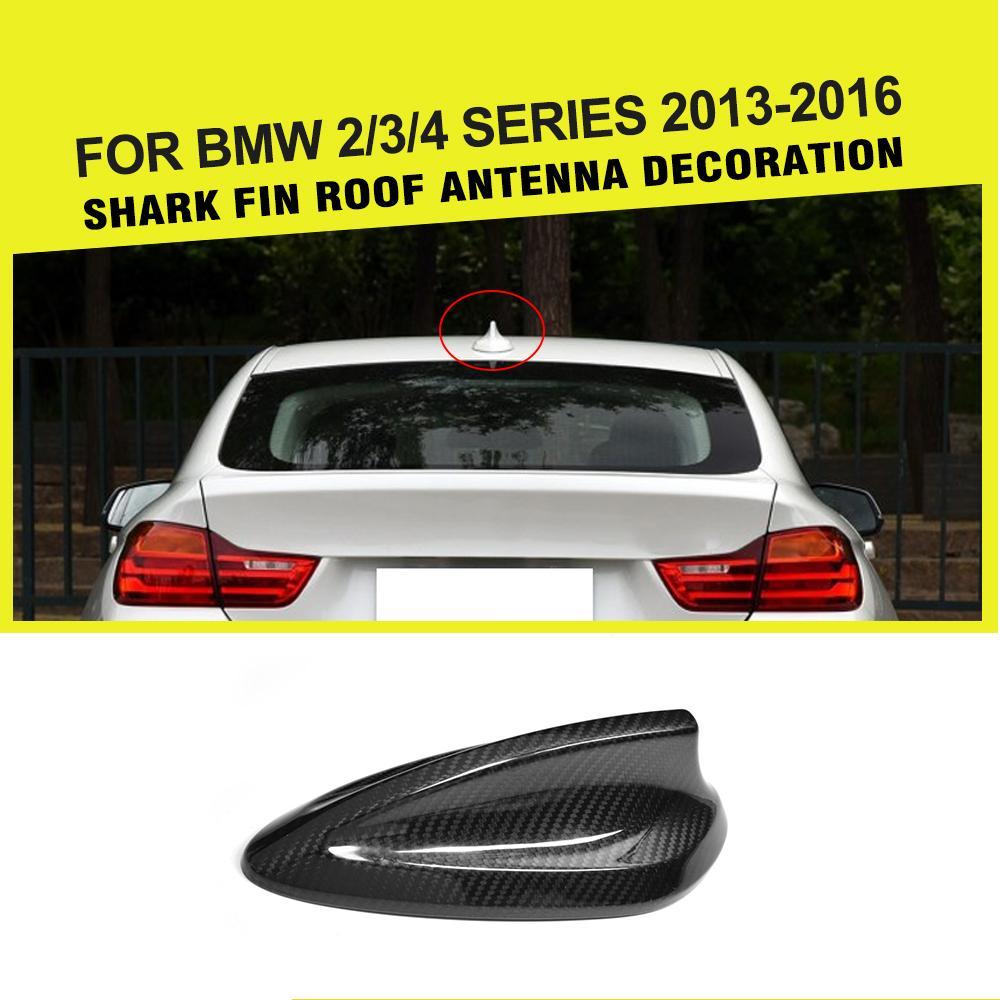 Стайлинга автомобилей углерода Волокно плавник акулы Телевизионные антенны на крыше багажник Телевизионные антенны воздушная отделка Сти...