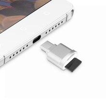 DM типа C-TF USB3.1 Micro SD TF чтения карт памяти для MacBook или смартфон с Тип c Интерфейс Бесплатная доставка
