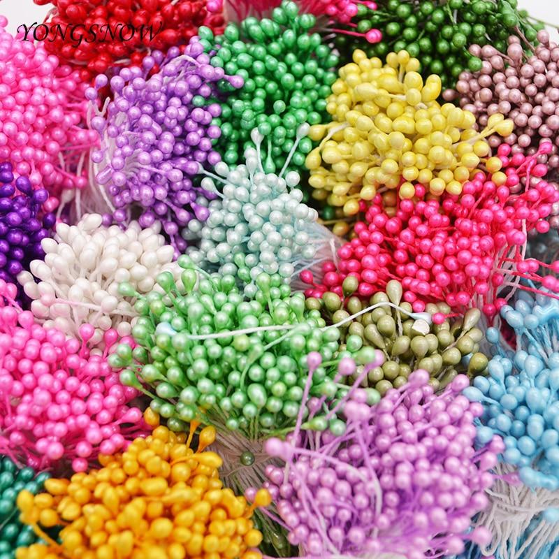 250 шт. 3 мм мини цветок тычинки ручной работы искусственная тычинка цветы на свадьбу украшения дома создание скрапбука своими руками 7z
