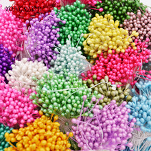 250pcs 3mm Mini Flower Stamen Handmade Artificial Flowers for Wedding Home Decoration DIY Scrapbook Craft 7z