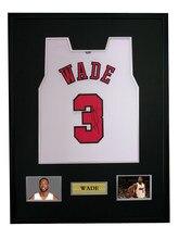 Dwyane Wade Signed Autographed Basketball Shirt Jersey Come With Sa Coa  Framed Bulls