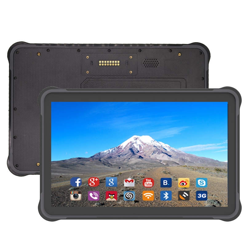 10.1 Inch RAM 4GB ROM 64GB Android 7.0 Rugged Tablet PC Wiht 2D Barcode Scanner
