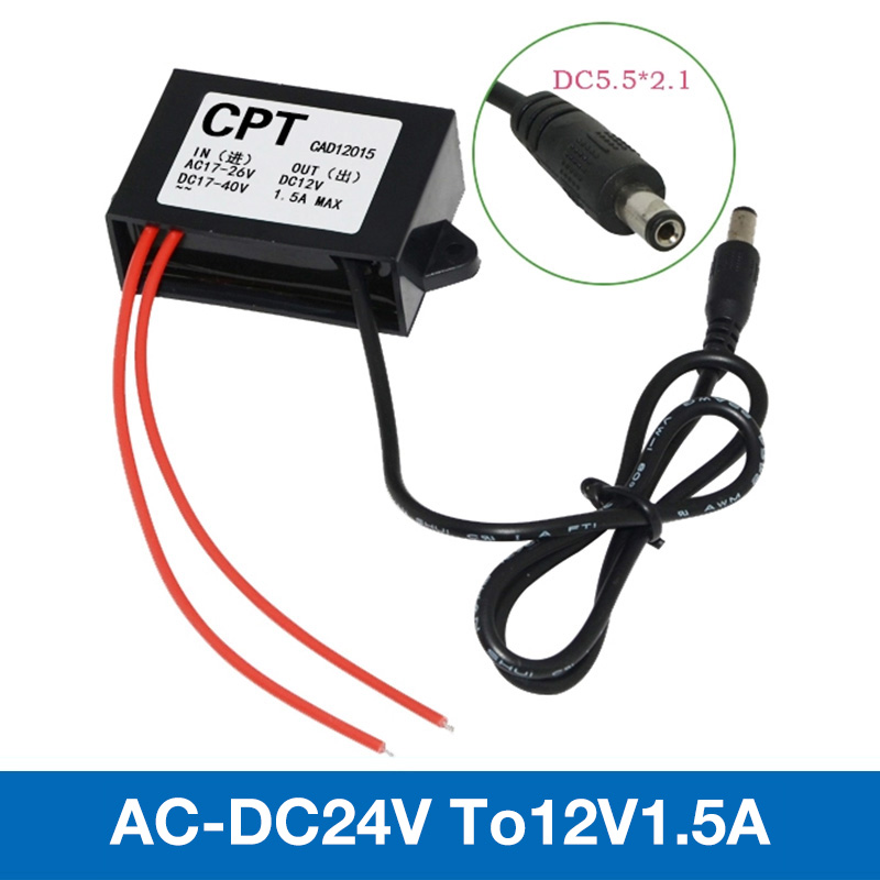 Waterproof IP68 controller inverter for Control Car Module AC/DC Step-down 24V to 12V 1.5A2A3A Low Heat Auto Protection dc conv ac dc step down converter module for vehicle char module 24v to 12v 8a waterproof control car module low heat auto protection