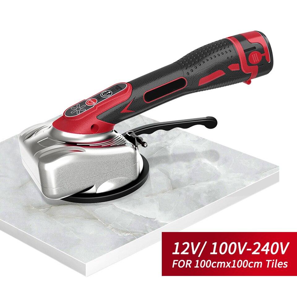 100cm Professional Tiling Tool 12V Tile Leveling Machine Construction Tools Tile Vibrator Pressure Tool Carrelage Outil