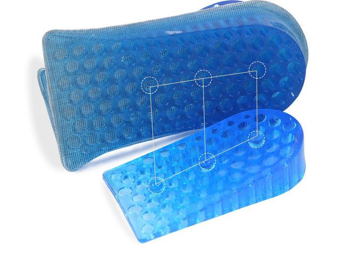 Двойной half-мягкая стелька для мужчин и женщин удобные мягкие два Невидимый стельки