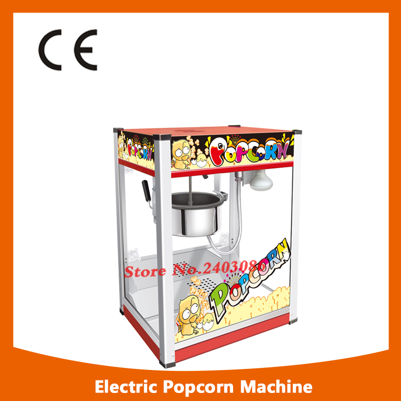 KW-BG17 ce approved 80oz electric kettle corn popcorn maker machine popcorn making machine with long life motor pop 06 economic popcorn maker commercial popcorn machine with cart