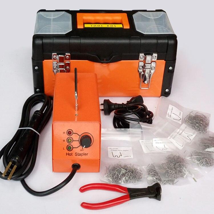 Agrafeuse chaude pièces en plastique réparation Machine 220v
