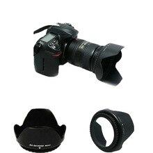 Бленда объектива D3200 D3100 D5200 D5300 бленда объектива камеры 52 мм байонет подходит для объектива nikon nikor AF-S DX 18-55 мм f/3,5-5,6G VR II 52