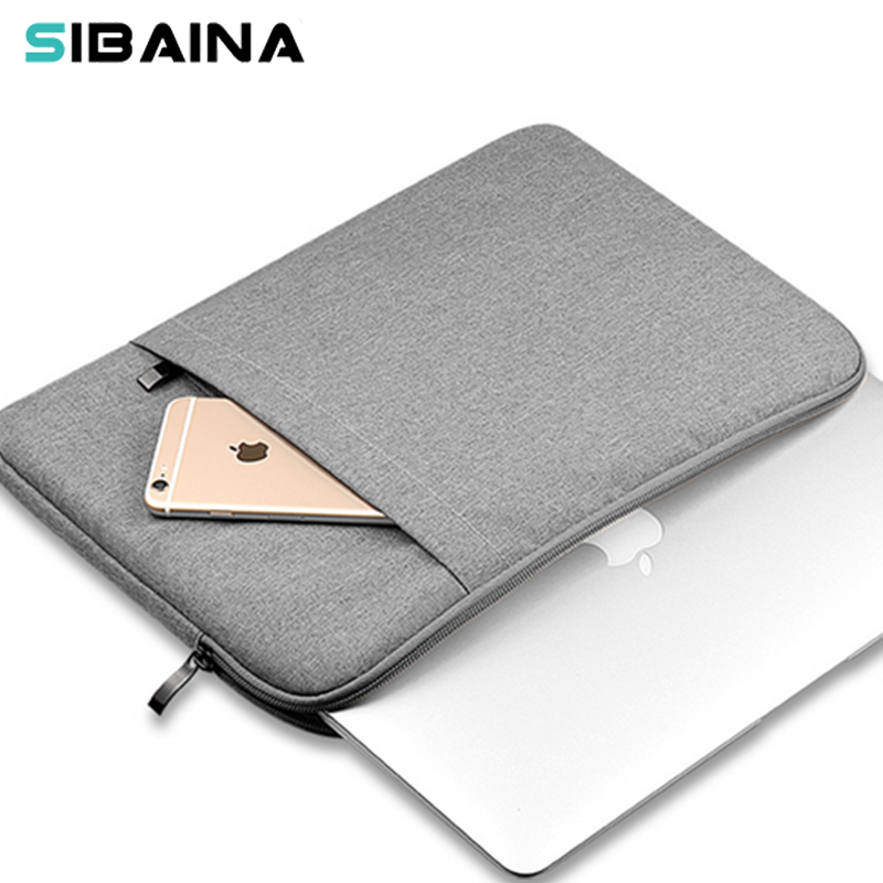 Nylon Laptop Sleeve Bag Pouch for Macbook Air 11 13 12 15 Pro 13.3 15.4 Retina Unisex Liner Sleeve Notebook Case for Xiaomi Air 2016 laptop sleeve bag case pouch cover for 11 13 inch macbook air 12 macbook 13 15 macbook pro retina ultrabook notebook