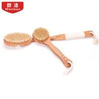 Long Bath Brush Bristles Fur Rubbing Towel Bath Bath Brush Back Brush Back Artifact