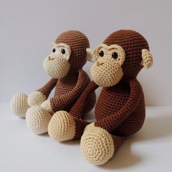 Crochet Toys  Amigurumi Child Monkey