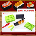 HEY play doh 3pcs clay tool mold simulation sushi children color clay toys DIY mold tool Christmas birthday gift toys playdough