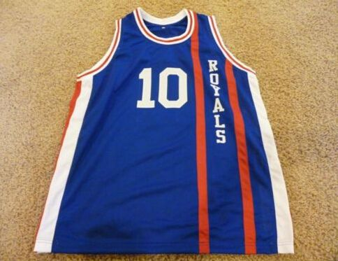 ФОТО  #10 Nate Archibald cincinnati royals Basketball Jerseys Retro Throwback Embroidery Stitched Customized Any Name And Number
