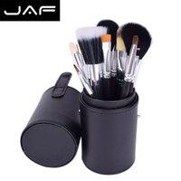 JAF Brand Makeup Brushes Studio J1204MCB 12 Pcs Brushes Makeup Kit Pincel Maquiagem With Brush Holder