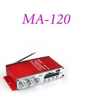 Digital Motorcycle Auto Stereo Power Car Amplifier Audio Music Player Support USB MP3 Dvd Cd FM