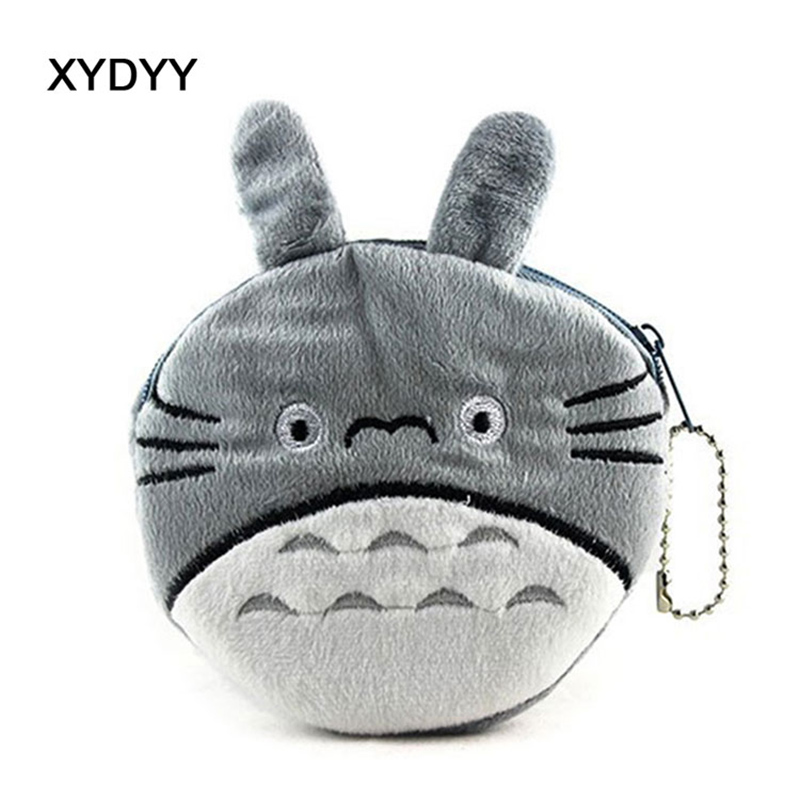XYDYY Cartoon 3D Totoros Prints Women Kids Coin Purse Mini Small Change Pouch Wallet Girls Purse Handbag Wallet Bag For Gift