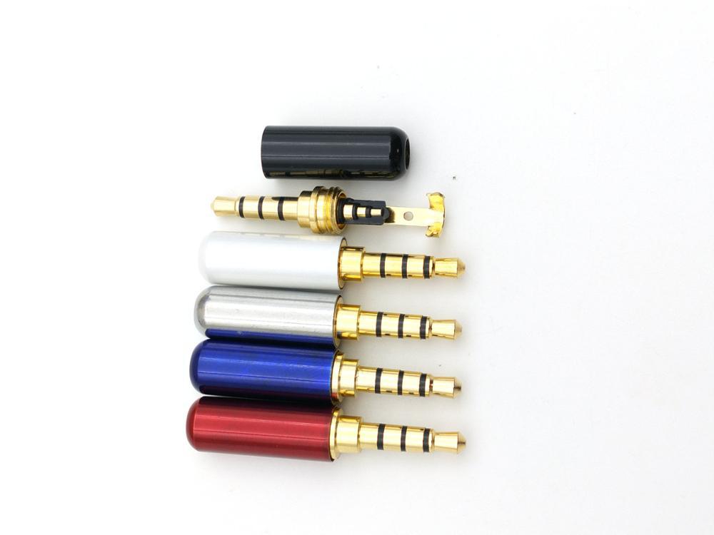 """100 stücke 1/8 """"3,5mm männlichen 4 pole stereo stecker Reparatur Kopfhörer Kabel Lote-in Steckverbinder aus Licht & Beleuchtung bei AliExpress - 11.11_Doppel-11Tag der Singles 1"""