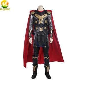 Карнавальный костюм Thor The Dark World, костюм супергероя Тора, костюм на Хэллоуин, жилет, топ, плащ, брюки, индивидуальный пошив