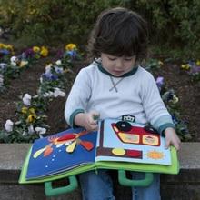 0-36 месяцев 3D головоломки тихий детские книги Монтессори Материал Геометрия Пазлы играть в игры книга Educatioanl игрушки для детская