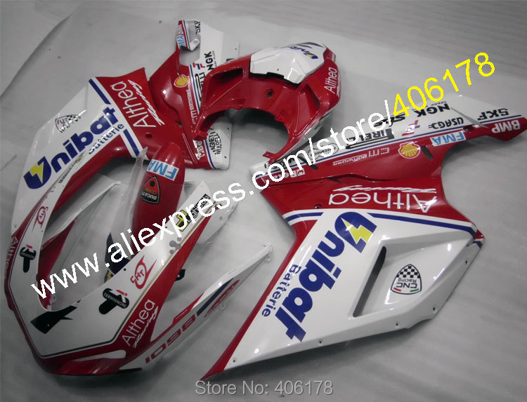 Hot Sales,For Ducati 848 1098 07 08 09 10 11 1098S 1198 1198S 2007 2008 2009 2010 2011 ABS Bodywork Fairing (Injection molding)