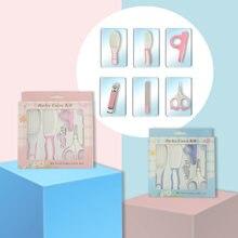 6 шт Детский набор для маникюра и стрижки ногтей