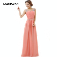 new arrivals 2018 women elegant royal elegant long red watermelon  bridesmaid dress beaded formal beading for 212d46d965c4
