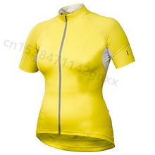 2019 Summer New Outdoor Sport Cycling Jersey Women pro team triathlon MTB bike clothing bicycle jerseys Maillot Ropa Ciclismo недорго, оригинальная цена