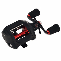 YUMOSHI 2018New Right or Left Baitcasting Reel 12+1BB 7.0:1 Bait Casting Fishing Reel Magnetic and Centrifugal Dual Brake AOF