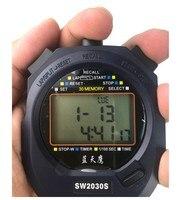 Üç Sıra 30 Bellek Kronometre Ikinci Profesyonel El Kronometre Spor Kronometre Dijital Sayaç Zamanlayıcı ile Kayış