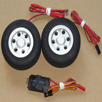 RC model 70mm 75mm JP brake wheel for fixed wing aircraft landing gear