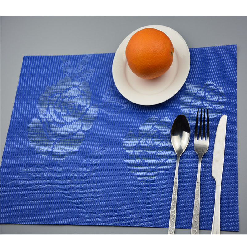 Ruby Love Top Pvc Placemat For Table Mat Pad Drink Wine Coasters Bamboo Placemats Dining Table Place Mat Kitchen