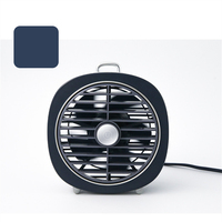 USB Charging Portable Handheld Electric Mini Portable Fan with Warm Portable LED Light Air Conditioner Cooler Cooling Fan Summer