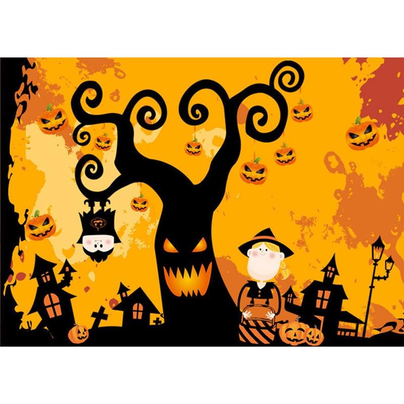 Happy Halloween pumpkin Wall Sticker Window Home Decoration Decal ...