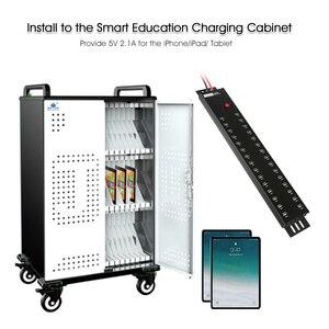 Image 5 - Sipolar hub USB 2.0 de qualité industrielle à grande vitesse pour tablettes et smartphones, charge et synchronisation des données, 30 ports, a 812