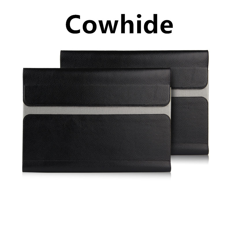Case cowhide Sleeve For Apple Macbook Air 13 inch Laptop Bag Genuine leather File pocket Holster Computer NoteBook Air 13.3 case renren rr1203 classic steel straight edge razor folding shaving razor knife set wine red