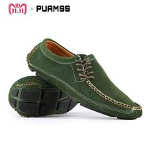 Men Loafers Brand Soft Mocasins Men Casual Shoes High Quality Men Flats Leather Gommino Driving Shoes Walking Sneakers
