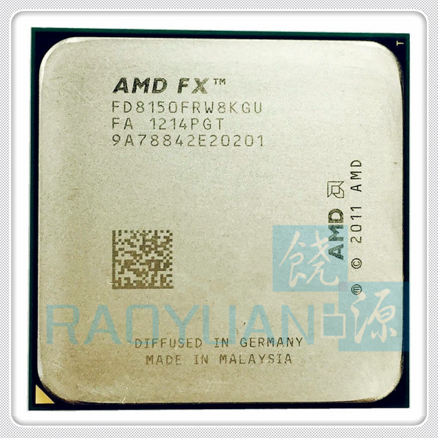 AMD FX Series FX 8150 FX 8150 FX8150 FD8150FRW8KGU 3 6Ghz Eight Core CPU Processor Socket