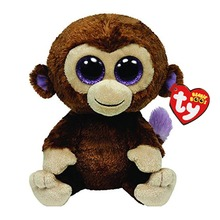 Ty Beanie Boos Stuffed Plush Animals Brown Monkey Toy Doll With Tag 6 15cm