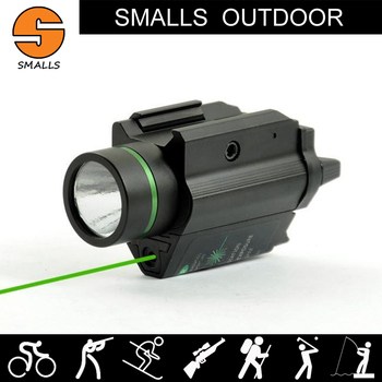 Outdoor Hunting Weapon light Tactical Fleshlight M6 LED Flashlight Combo Green Laser Sight For Rifle scope fits 20mm rail
