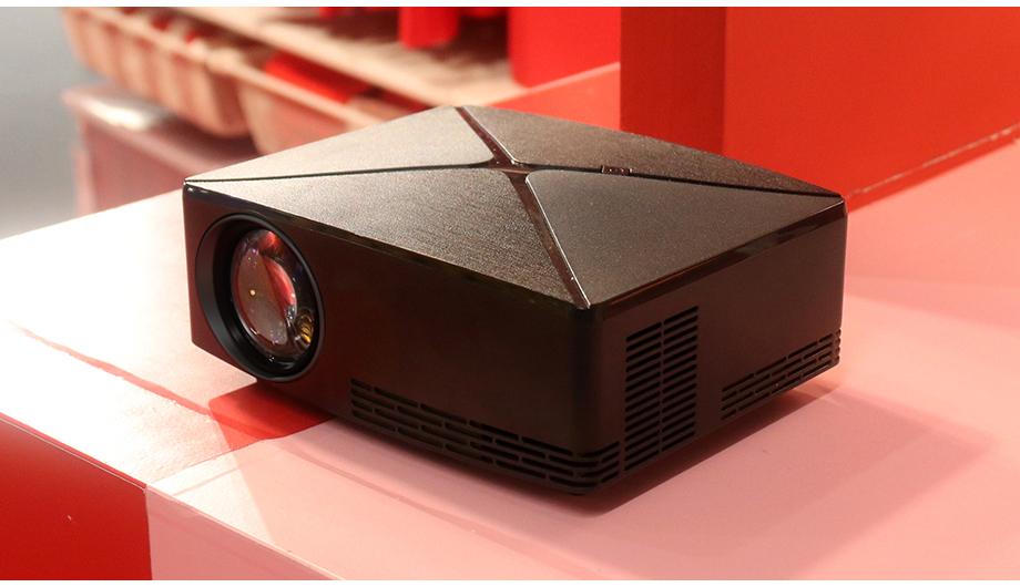 AUN C80/C80UP Android WIFI Mini Projector With 1280x720 Pixels Resolution and 3D Beamer 23