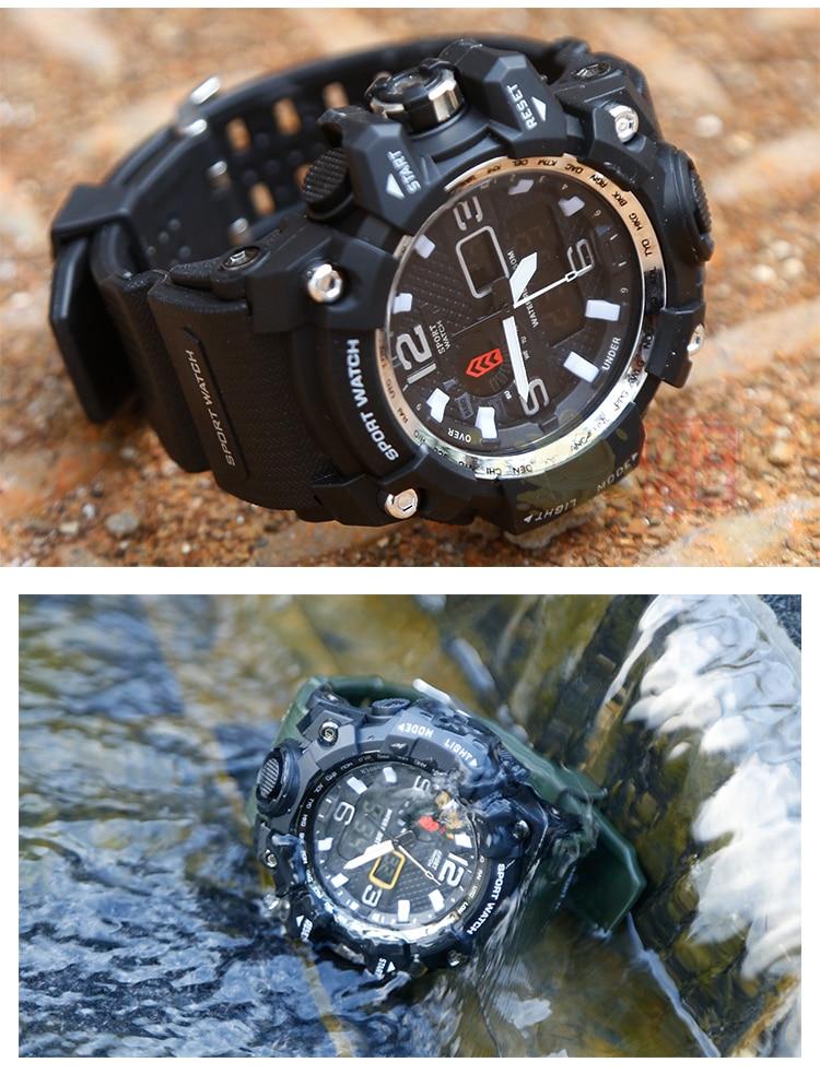 G Shock Style Men Military Army Mens Reloj Led Digital Sports Watch